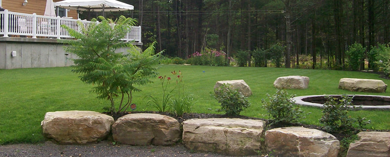 am nagement paysager pose de gazon pierre naturelle naturpro. Black Bedroom Furniture Sets. Home Design Ideas